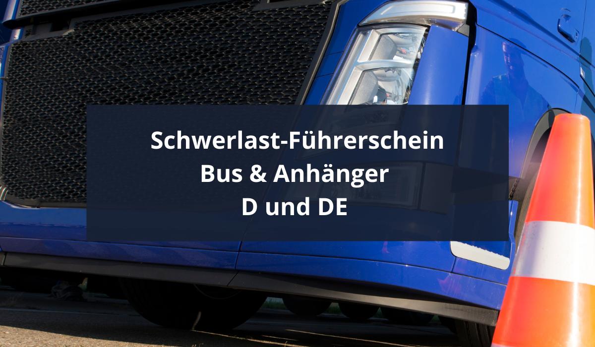 D+DE--LKW-Führerschein
